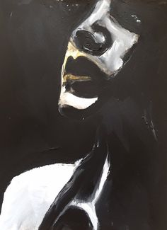 Black and White Portrait Painting, Original Acrylic Painting, Original Watercolor Painting, Mixed Media Painting, Woman Face Painting Black And White Painting, Black And White Portraits, Meaningful Paintings, Download Art, Watercolor Mixing, Watercolor Painting, Painting Clouds, Painting Abstract, Mixed Media Photography