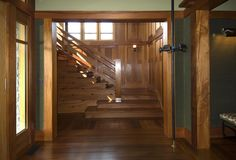 Khouri Guzman Bruce Lininger - Interior Designer - New York - Shingle Style - Eclectic - Wood - All Wood - Neutrals - Staircase
