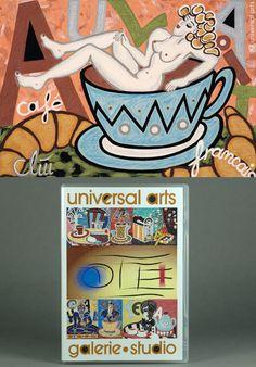 JACQUELINE DITT - Kunstkatalog-DVD  Edition 12   MARIO STRACK - Musik Art Video