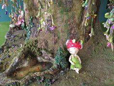 Fairy house dollhouse tree house :) by Torisaur, via Flickr