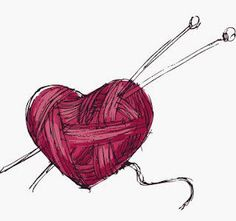 Heart Yarn Tattoo but with crochet hook
