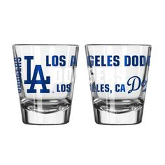 Los Angeles Dodgers 2oz. Spirit Shot Glass