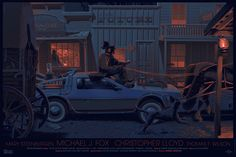 "Laurent Durieux's ""Back to the Future 3"""