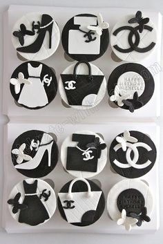 Chanel Cupcakes..i'm pretty sure these were for me ;)
