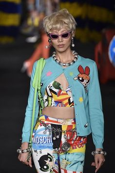 Moschino Is Releasing a Powerpuff Girls Collection With Cartoon Network - Racked