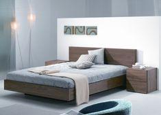 chic modern bed