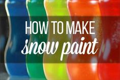 Make your own snow paint Make your own snow paint The post Make your own snow paint appeared first on Garden Diy. How To Make Paper, Crafts To Make, Crafts For Kids, Easter Crafts, Christmas Crafts, Christmas Ornaments, Make Your Own, Make It Yourself, Puffy Paint