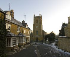 11 Feb 2012, The Square and the Blockley Parish Church of St. Peter and St. Paul.   [Brother G site on Flickr - Photo Sharing!]