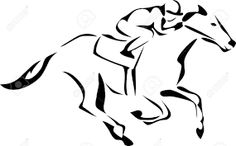 Image result for horse logo images Racing Tattoos, Horse Clip Art, Drawing Female Body, Horse Clipping, Minimalist Drawing, Derby Horse, Horse Logo, Horse Tattoos, Tribal Tattoos