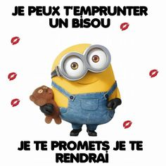 Share if u love minions Minion Photos, Minions Images, Minions Quotes, Minion Gif, My Minion, Funny Phone Wallpaper, Cartoon Pics, Getting Bored, Funny Love