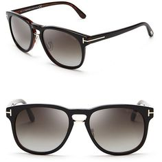 9b47cb66074 Tom Ford - Black Franklin Wayfarer Sunglasses for Men - Lyst
