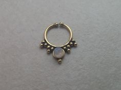 Fake septum ring, fake septum, piercing, by opaljewells on Etsy https://www.etsy.com/listing/217209906/fake-septum-ring-fake-septum-piercing