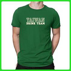 Teeburon Taiwan Drink Team sporty T-Shirt - Food and drink shirts (*Amazon Partner-Link)