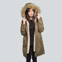 Into the wild. Wilderness Parka NOMAD