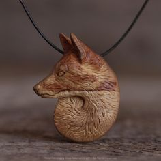 The finished Teardrop Fox pendant that I posted about earlier today... Anger and sorrow are unusual motivations for a wood carving but the thought of a lift in the ban on Fox hunting is truly sickening. We can't let them do it #keeptheban . . Carved by kn http://survivallife.xyz