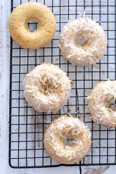 Totally Coconut Donuts