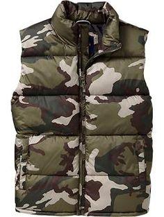 Men's Frost Free Vests | Old Navy