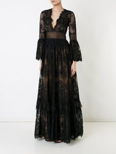 Zuhair Murad v-neck lace gown Zuhair Murad V-neck Lace Dress Zuhair Murad, Evening Dresses, Formal Dresses, Wedding Dresses, Modest Wedding, Lace Dress, Dress Up, Lace Gowns, Beautiful Gowns