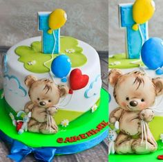 Cupcakes Decoration Ideas Boys Cake Tutorial 24 Ideas For 2019 Fondant Cupcakes, Fun Cupcakes, Cupcake Cakes, Baby Shower Cakes For Boys, Baby Boy Cakes, Teddy Bear Cakes, Teddy Bears, Nake Cake, Baby Birthday Cakes