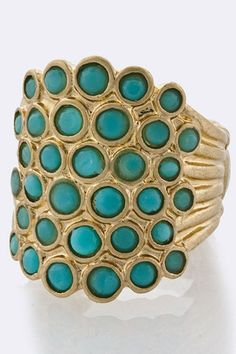 beaded ring found at Gracie's