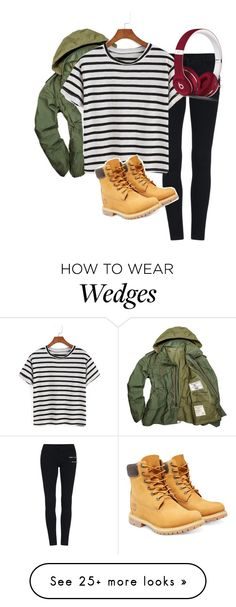 """""""Untitled #925"""" by shocker44 on Polyvore featuring Timberland and Beats by Dr. Dre"""