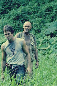 Boone Carlyle and John Locke.