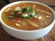 Chicken and Spring Vegetable Soup | Diabetes Recipes