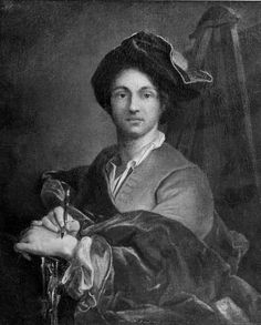 Portrait of an Artist    Hyacinthe François Rigau y Ros, called Hyacinthe Rigaud,   27.9 x 22.9 cm (11 x 9 in.)  Oil on canvas  Classification: Paintings  Accession number: 74.16  Bequest of Charles Sumner