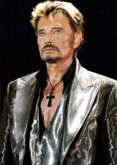 Johnny Hallyday concert 2002 au stade pour sont anniversaire