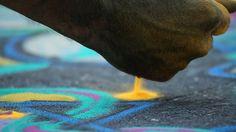 NYScenes - Joe Mangrum, Sand Painter-for more information http://irene-turner.com/art-architecture/sand-mandalas-art-sonoma-style/