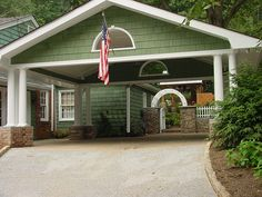 car port | of 22 brookhaven carport addition home services portfolio carports ...