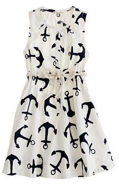 J Crew Anchor dress.