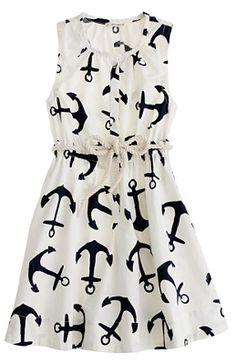 J Crew Anchor dress.