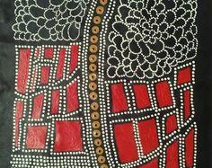 This item is unavailable Aboriginal Patterns, Aboriginal Dot Painting, Aboriginal Culture, Aboriginal People, Kunst Der Aborigines, 2nd Grade Art, Arts Ed, Australian Art, Indigenous Art