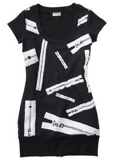 Vestido de moletom preto encomendar agora na loja on-line bonprix.de  R$ 79,90 a partir de Incrível vestido de moletom para você arrasar! 96%algodão, ...