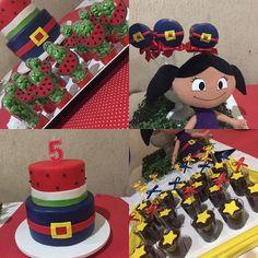 #showdaluna #bolodecorado #docespersonalizados #pirulitodechocolate #festainfantil #brigadeiro @_cake2u