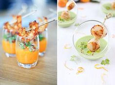 Those scallops are cooked perfectly! Party Snacks, Appetizers For Party, Beignets, Xmas Food, Appetisers, Culinary Arts, Light Recipes, Finger Foods, I Foods