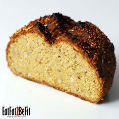 Recette de pain quotidien EatFat2BeFit | EatFat2BeFit