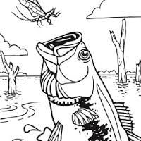 Fish coloring pages | Free Coloring Pages | mosaic ideas | Pinterest ...