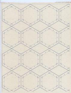 sheet of hexes