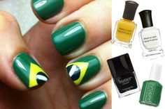SimplyQ: World Cup-Inspired Nail Art Designs