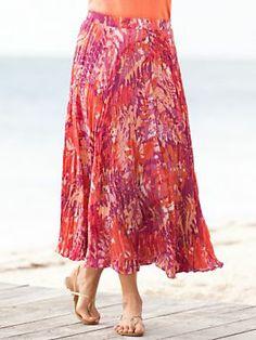 Silk Broomstick Skirt 58