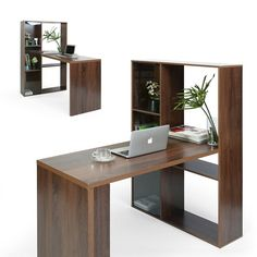 Mercury Row Elkins Desk | Wayfair.co.uk Office Furniture, Office Desk, Buy Desk, Particle Board, Writing Desk, Working Area, Contemporary Design, The Row, Beautiful Homes