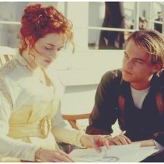 Kate and Leo.