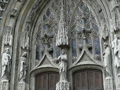 Abbaye de la Trinité de Vendôme . Centre