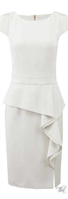 Emilio Pucci ● Ruffle Skirt Dress