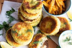 salmon fishcakes homemade mayo and paprika chips