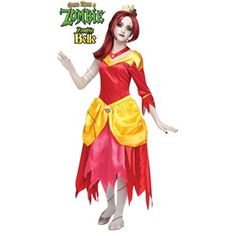 New for 2014 - Once Upon A Zombie Belle Tween Kids Costume #officialprincesscostumes
