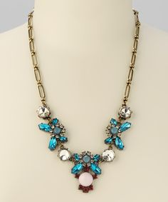 Teal & Pink Necklace