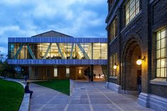 Cornell - Milstein Hall - 47.000 sqf addition to the College of Architecture © Matthew Carbone
